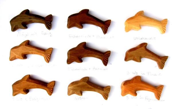 The Tanning of Wood: Results